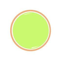 """Gel couleur """"Citron Pastel"""""""