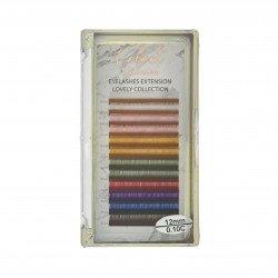 Cils Multicolor macaron 0.10C (10-12mm)