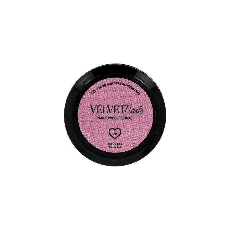 Gel uv Jelly gel cover tender pink